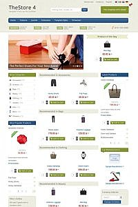 Icetheme Premium Joomla Template 2012 - IT The Store 4